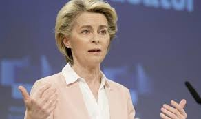 Digital green certificates will help us resume safe and free travels in the eu. Eu News Von Der Leyen Mocked Over Predictability With Eu S Covid Passport World News Express Co Uk
