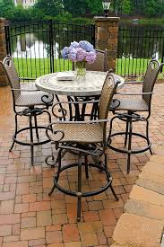 patio furniture high top table and chairs luxury with images of patio furniture model at design