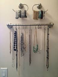 Earring Display Stand Diy Jewelry Display Itself Making 100 DIY Ideas For Jewelry Storage 79