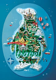 Travel Ads Penguin Print Advert By Y R Travel Ads Of The World