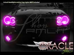 oracle 08 10 jeep cherokee srt8 led colorshift halo rings head fog bulbs