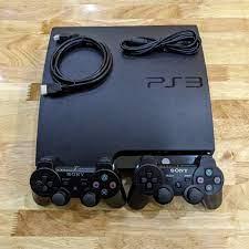 Máy chơi Game PS3 Slim + 2 Tay Cầm ( Kho 3000 game free )