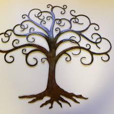 wall art metal tree 640600 within kohls kohl s saveenlarge