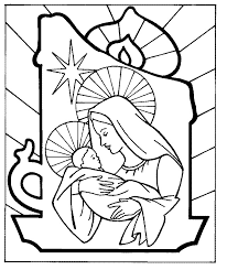 Free Printable Catholic Christmas Coloring Pages With The Kid And