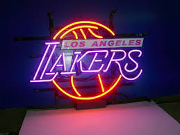 Neon Signs Los Angeles Unique Business Custom NEON SIGN Board For LOS ANGELES LAKERS Basketball