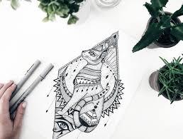 Bastet Custom Tattoo Design татуировки эскизы египет