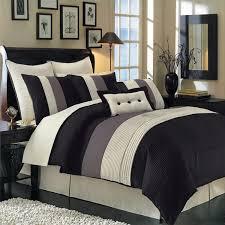black hudson luxury 8 piece comforter set