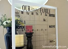 charming ideas framed dry erase wall calendar home decor calendars oversized large
