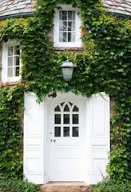 white front door. Plain Front Front Door Paint Color Ideas White With Ivy Covered Exterior In White Front Door