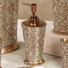 Allure Silver And Gold Bath Accessories Gold And Silver Bathroom Accessories