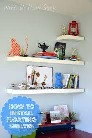 how to hang ikea lack floating shelf