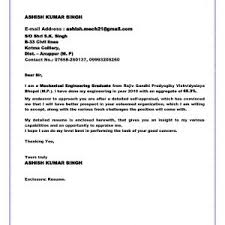 Cover Letter Sample For Fresh Graduate Geologist Archives