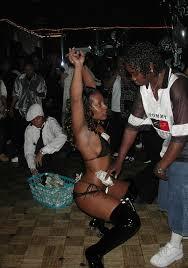 Lesbian strippers in lesbian bars