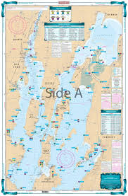 Long Lake Ny Depth Chart Lake Champlain North Lake Fishing Chart 12f