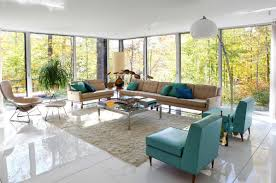 Retro Living Room Modern Retro Living Room Furniture Giving You A Chic Welcoming
