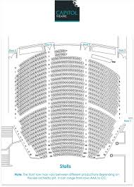 Capitol Theatre Melbourne Seating Chart 2019