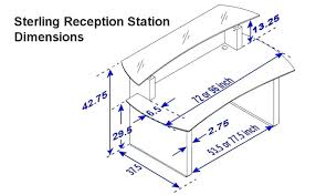 typical desk height full size of home reception desk dimensions standards cute standard counter height 2 typical desk height