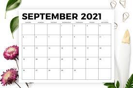 Blank calendar 8 5 x 11. 8 5 X 11 Inch Bold 2021 Calendar By Running With Foxes Thehungryjpeg Com
