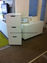 besta office. ikea galant 3 drawers file cabinet and besta office storage unit assembled for health hiv organization in dupont circle washington dc by furniture assembly