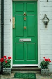 green front doorsOh The Things Front Door Colors Convey  Green front doors Front