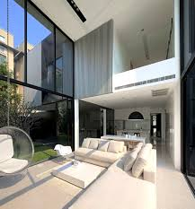 Square Modern Style House In Bangkok Fascinating Modern Style Homes Interior