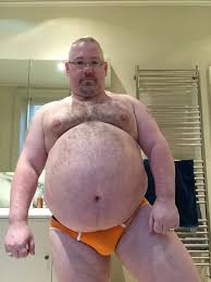 Picture of chubby gay man