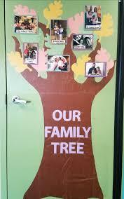 Family Tree Design In Illustration Board Family Tree Infant Classroom Infant Classroom School Fun