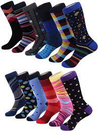 Men's Patterned Dress Socks