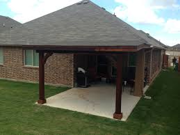 Bar Furniture attached patio roof Carpentry Is It Code Compliant