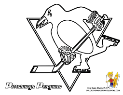 Small Picture Penguins Pittsburgh Hockey Free Coloring pages NHL Hockey East