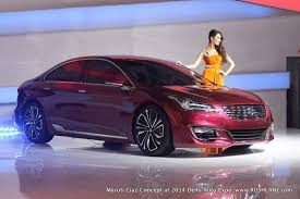 new car launches by maruti in 2014Ciaz launch in second half of September 2014