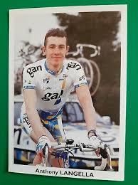 CYCLISME CARTE CYCLISTE ANTHONY LANGELLA équipe CREDIT AGRICOLE 1998 - EUR  1,99   PicClick FR