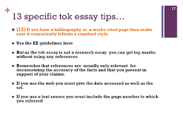 tok essay essential guidelines ppt video online  13 specific tok essay tips
