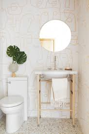 Cozy eclectic bathroom vanity designs ideas using wood Cozy Living Emily Henderson Bathroom Trends 2019 Emily Henderson 10 Of The Most Exciting Bathroom Design Trends For 2019