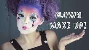 pretty clown make up tutorial