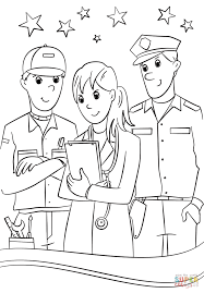 Small Picture Community Helpers coloring page Free Printable Coloring Pages