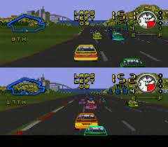 Very ESPN SpeedWorld (Sega MegaDrive)