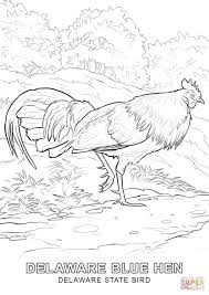 Small Picture Delaware State Bird coloring page Free Printable Coloring Pages