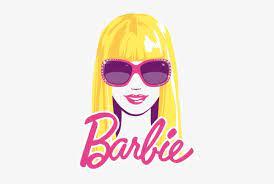 funny image barbie logo black png