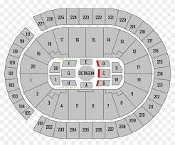 Mgm Grand Arena Seating Chart Ufc Ufc 226 T Mobile Arena Seating Chart Challenger Ufc 232