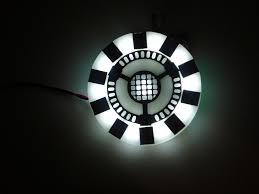 Iron Man Chest Light Diy How To Make An Iron Man Arc Reactor 5 Steps With Pictures
