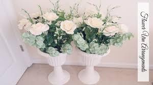 Diy Wedding Aisle Decor Flower Arrangements Youtube