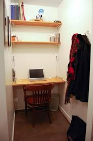 built in office desk ideas. Simple And Elegant Small Home Office Design With Builtin Furniture Computer Desk Wall Shelves Built In Ideas