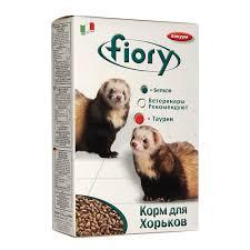 Купить <b>FIORY Furby Фиори</b> корм для хорьков 650 гр с доставкой
