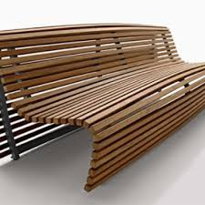 Ultra-modern Park Bench By Landscapeforms - Stay