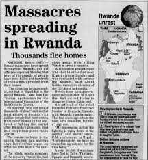 Old West Newspaper Template Rwandan Genocide Topics On Newspapers Com