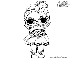 Lol Surprise Doll Coloring Pages Download And Print For Free Get