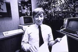 lesser known facts about bill gates bill gates about 27 in his microsoft office in 1982