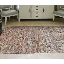 outstanding bungalow rose lansing hand knotted burlap area rug reviews inside burlap area rug modern