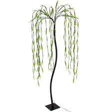 5.5Ft 200LED Decorative Green Willow Tree Lights